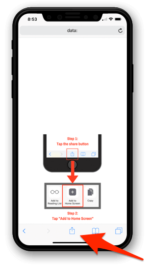 How to create an iPhone speed dial icon